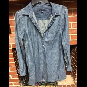 GAP Denim Top - Medium